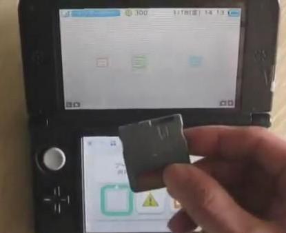 ACE3DS烧录卡运行3DS游戏演示