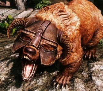 《上古卷轴5》模组让龙裔变小熊