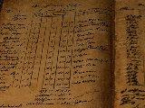上古卷轴5:天际 账簿字迹高清材质 v1.0