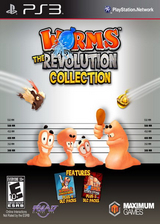百战天虫:革命收藏版 英文美版