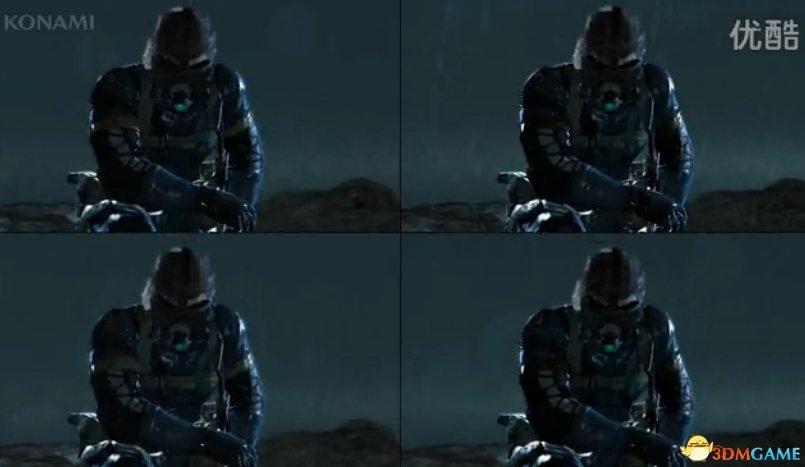 《合金装备5:原爆点》四平台画面对比