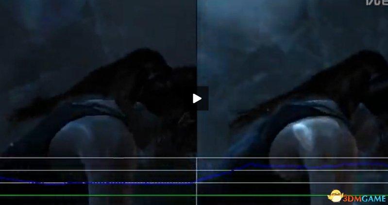 《古墓丽影9:终极版》PS4 VS XboxOne帧数测试