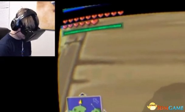 任天堂游戏《塞尔达传说》OR设备演示