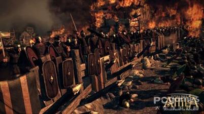 《阿提拉:全面战争》预告片