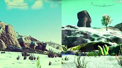 《无人深空》1.0 vs 1.32 画面对比