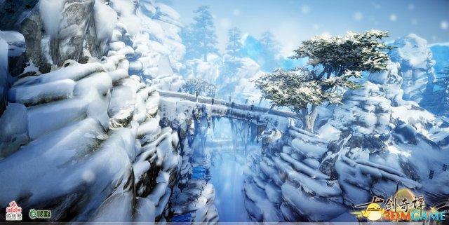仙山奇境 《古剑奇谭2》全新场景太华山道掠影