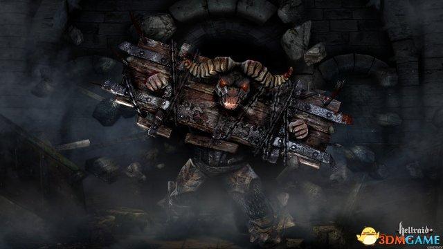 <b>《地狱突袭》公布:这是一款砍杀地狱军团的游戏</b>