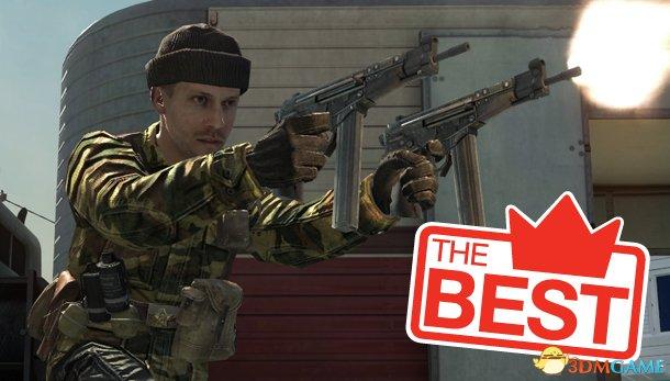 PC游戏十大最优秀枪械 握好你的阿姆斯特朗回旋炮