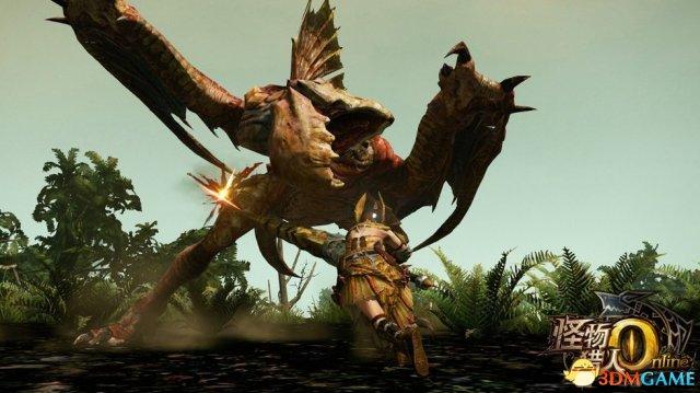 《怪物猎人OL》情报 忠实玩家必备大剑霸气蓄力斩