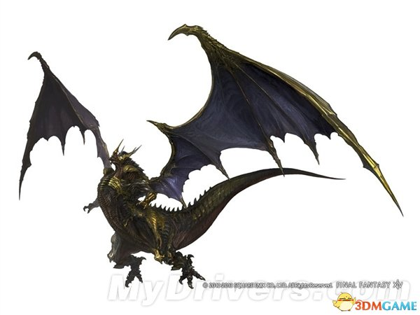 <b>《最终幻想14》新细节看个够 龙神巴哈姆特现身!</b>