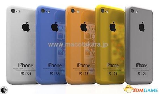 <b>不再单调 传iPhone 5S和廉价版iPhone将配多种色彩</b>