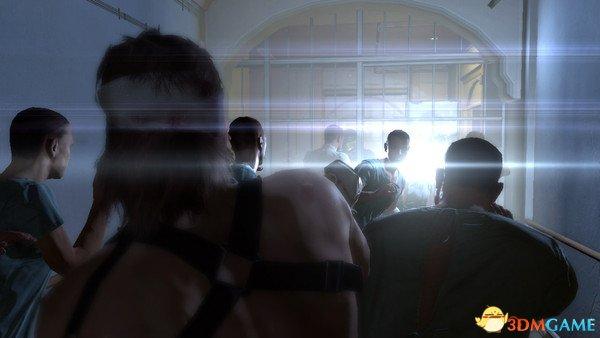 《合金装备5:幻痛》最新截图 幻觉般痛苦的画面