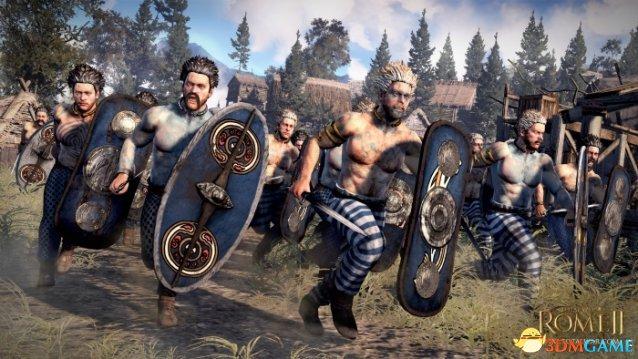 《罗马2:全面战争》新细节 借鉴同类作地图再扩大