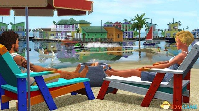 《模拟人生3:天堂岛》前瞻:漂在水上的幸福家园