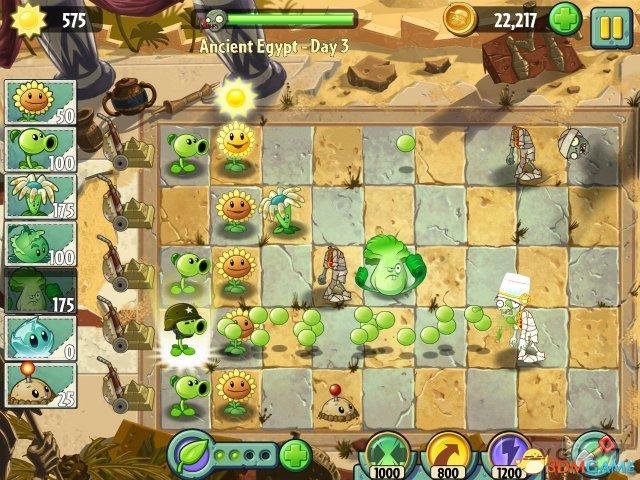 免费游戏微交易 《植物大战僵尸2》7月18日面世