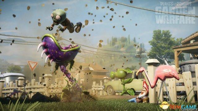 《植物大战僵尸:花园战争》好玩 8到80岁的都喜欢