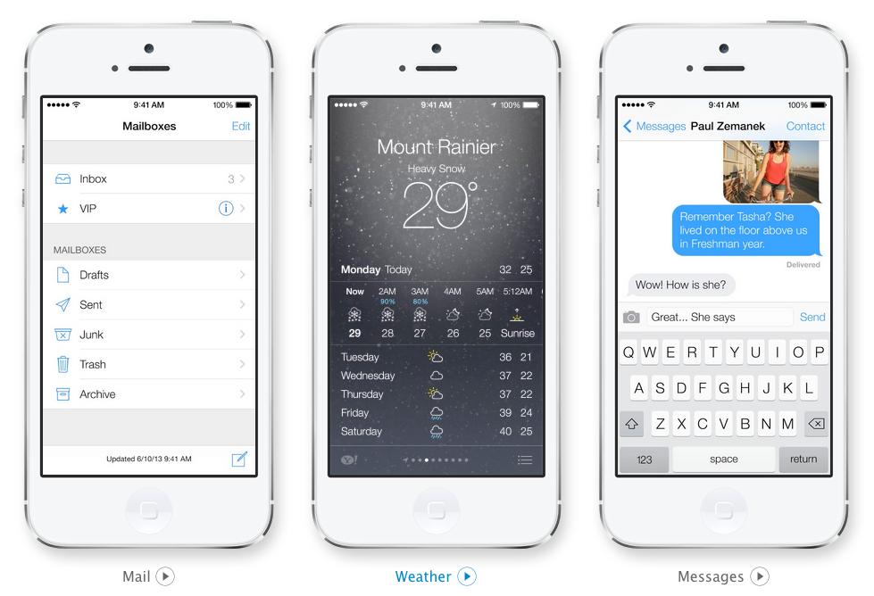 苹果开始抛弃乔布斯风格 iOS 7做的真是垃圾无比?