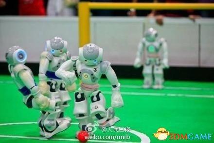 忘掉国足一比五吧:机器人世界杯足球赛中国夺冠