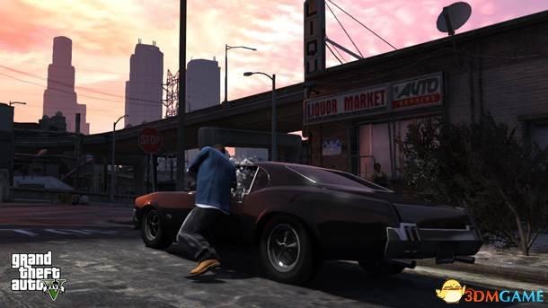 Rockstar史诗级巨作!《侠盗猎车5》最新细节曝光