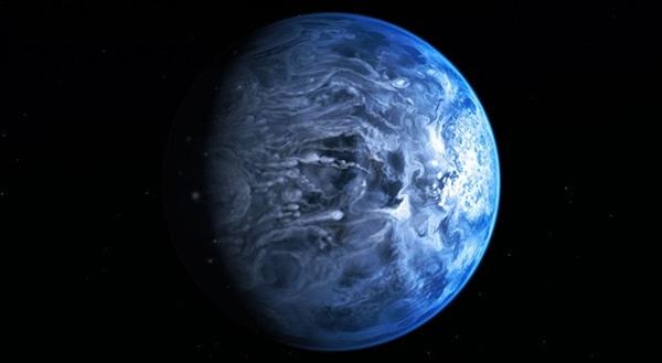 <b>科学家首次确定系外行星颜色 蔚蓝如海美如地球</b>