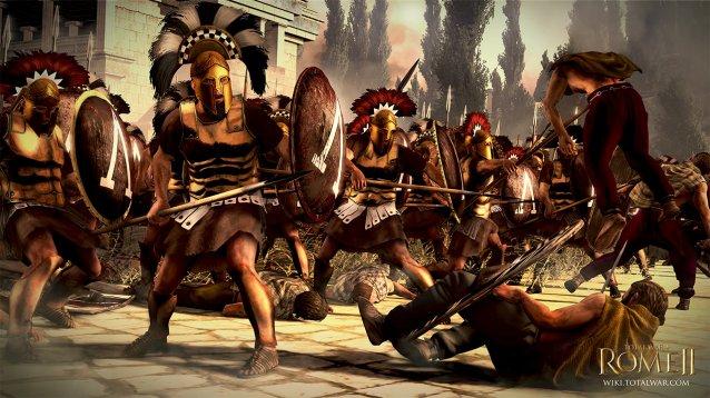 《罗马2:全面战争》新情报 700兵种还原历史