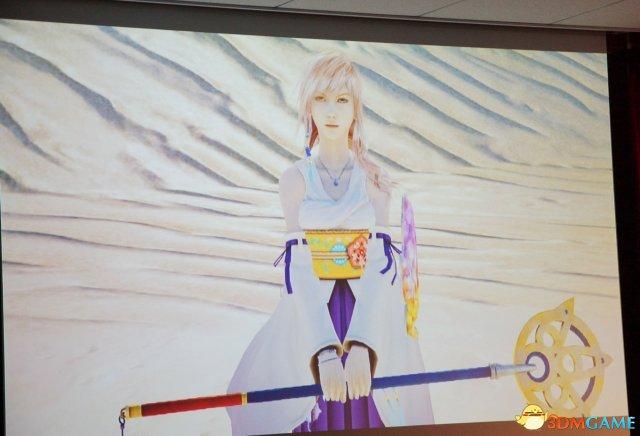 《最终幻想13》新情报 奶挺姐穿尤娜服装更美