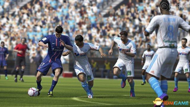 <b>《FIFA14》次世代版画面很逼真 视觉效果惊人</b>
