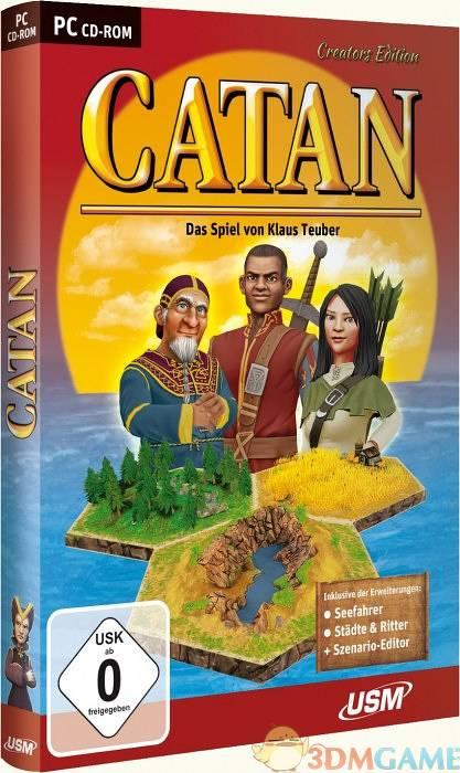 中世纪大富翁?《卡坦岛:造物主版》破解下载