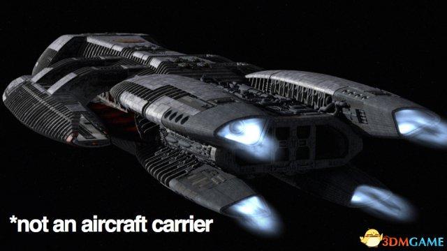 媒体造谣严重 太空堡垒卡拉狄加竟被当未来航母