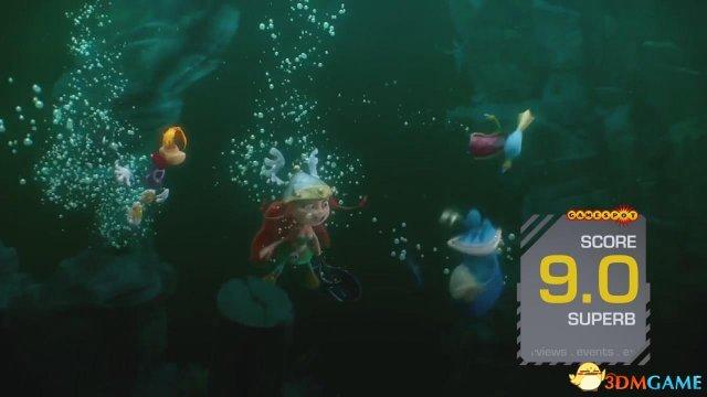 9分佳作!PS3/360《雷曼:传奇》Gamespot评分出炉