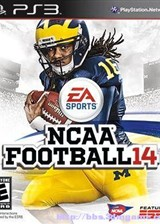 美国大学橄榄球14 英文美版
