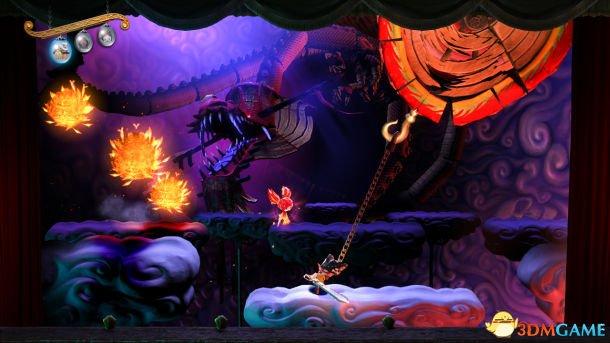 索尼横版动作游戏新作《剪刀王子》即将发售