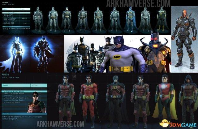 《蝙蝠侠》角色外观全赏 忠于原着还是架空设计