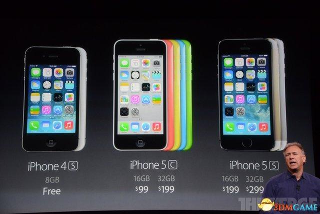 iPhone 5S获正式发布 9月20日发售中国首批上市
