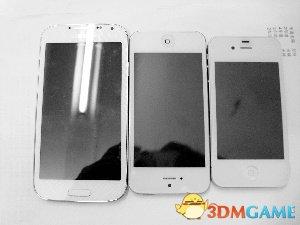 <b>大学生玩换机 正品三星S4反换来山寨苹果iPhone5</b>