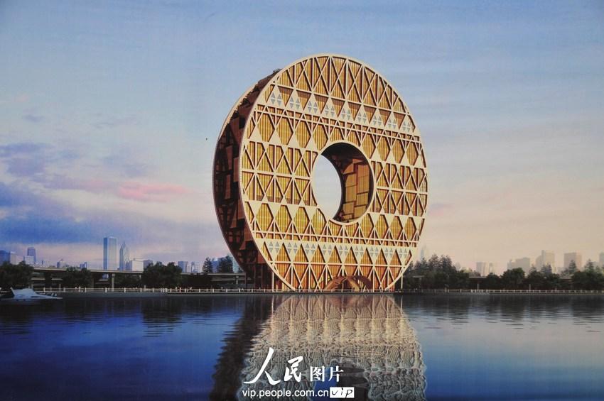 广州铜钱形大楼悬赏10万元征名 定名广州圆大厦