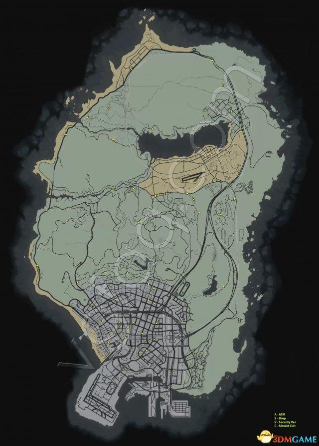 侠盗猎车5GTA5 蓝点随机任务全攻略 附地图位置