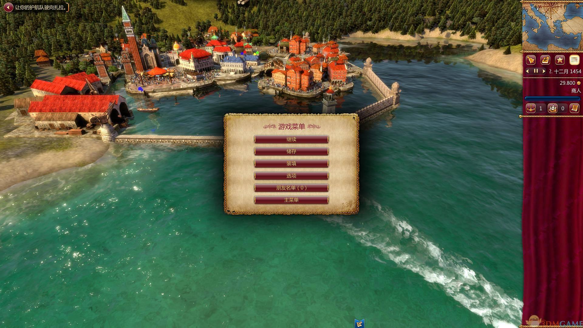 《威尼斯崛起》v1.1.2黄金版整合全DLC免安装中文版