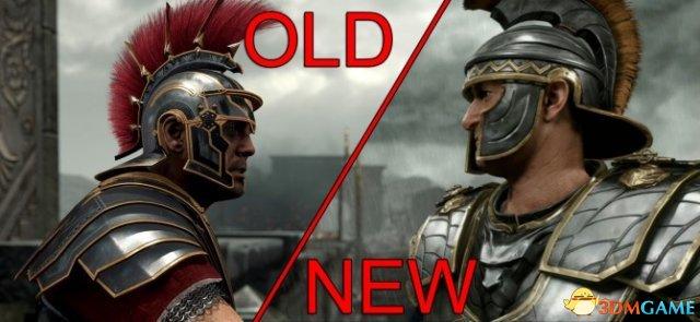<b>《崛起:罗马之子》画面新旧对比 效果变化明显</b>