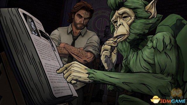 《我们身边的狼》10月11日即将发售 游戏截图放出