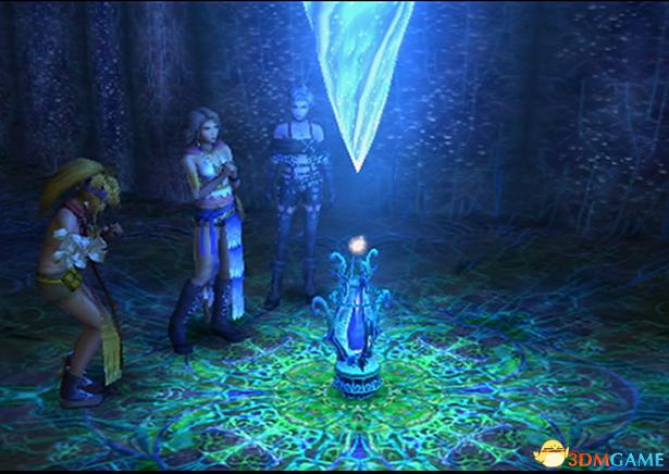 史克威尔《最终幻想 X/X-2 HD》与原版游戏对比图