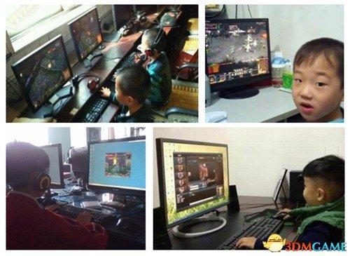 中国网瘾调查:三年级还不玩网游 会很没面子!