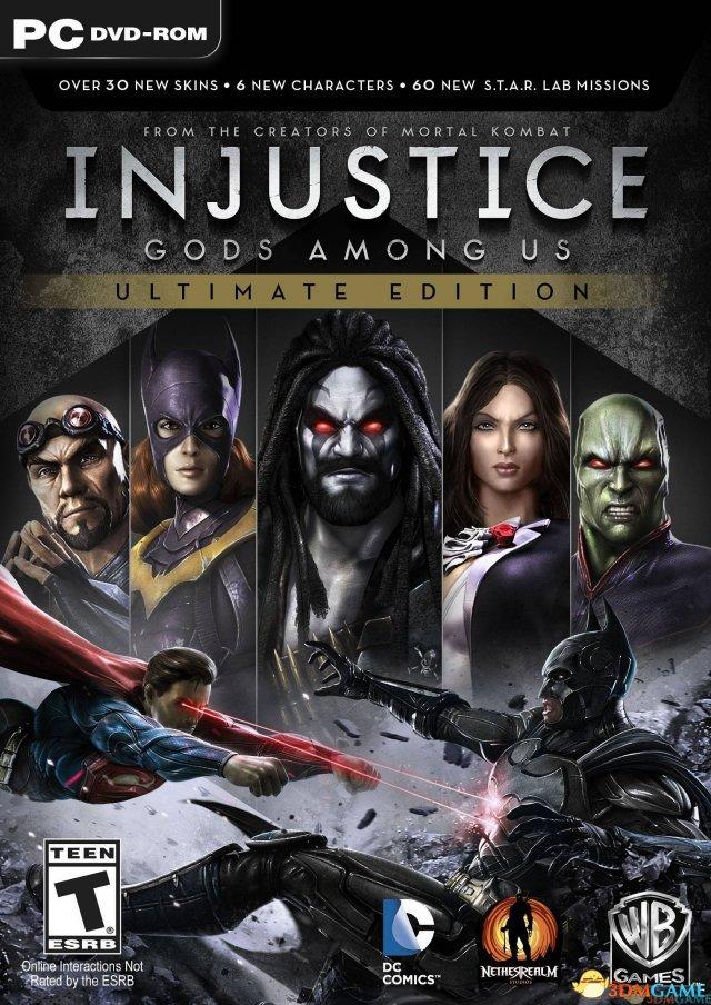 《不义联盟:人间之神》PC终极版3DM破解版发布