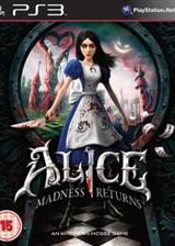 爱丽丝:疯狂回归 英文PS3版