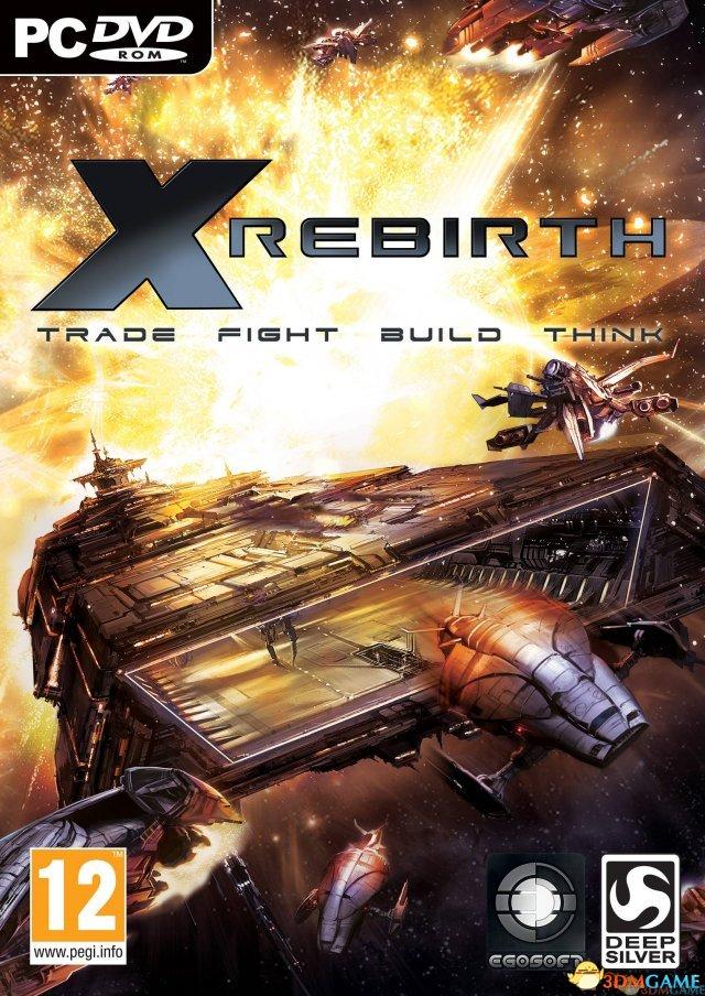 太空模拟游戏新作《X重生》PC典藏版3DM破解下载
