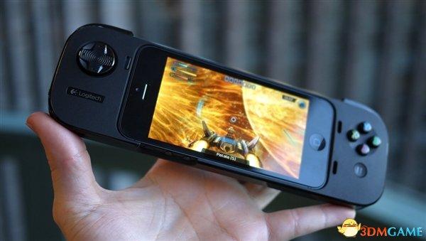 <b>专业iphone游戏外设 新式罗技PowerShell手柄发布</b>