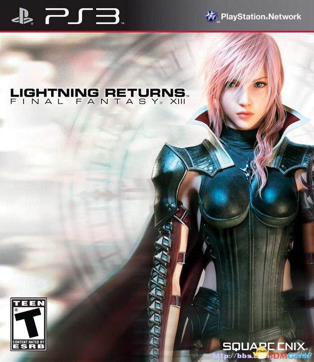 奶挺姐归来《最终幻想13:雷霆归来》主机版发布