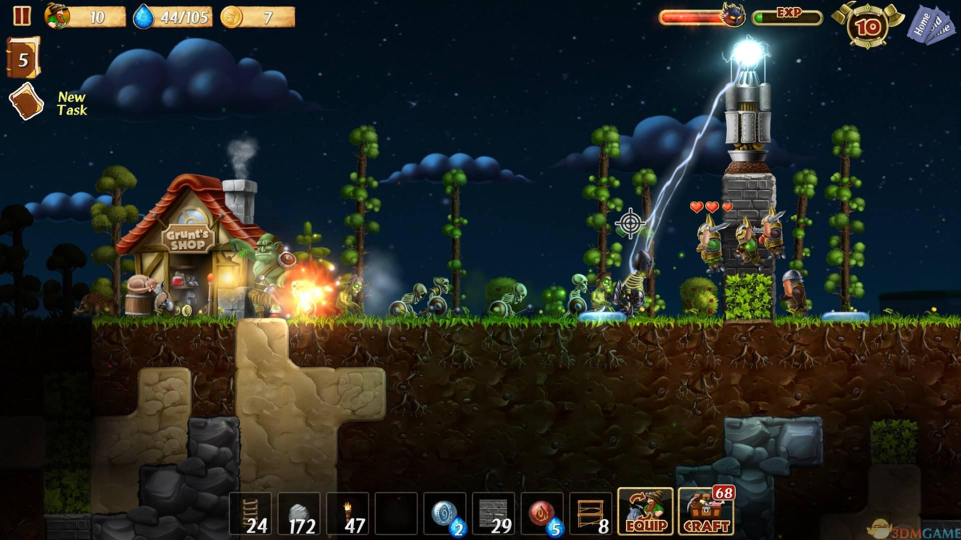 《创造世界/Craft The World》v1.9.001全DLC免安装中文版