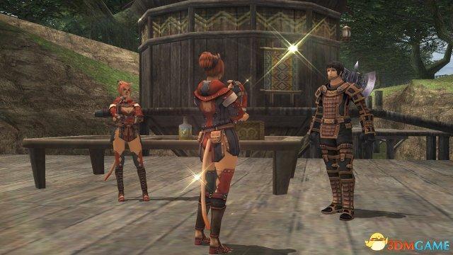 最终幻想11新分身系统 着名角色与玩家同出战
