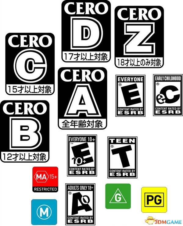 <b>ESRB什么的能吃吗 中国的游戏分级为何总是难产</b>